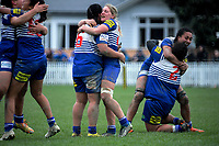 Action from the Wellington women's rugby Tia Paasi Memorial Cup premier final between Oriental Rongotai and Northern United at Petone Rec in Petone, New Zealand on Saturday, 4 August 2018. Photo: Dave Lintott / lintottphoto.co.nz