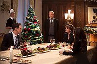A Royal Christmas (2014)<br /> Stephen Hagan, Jane Seymour &amp; Lacey Chabert<br /> *Filmstill - Editorial Use Only*<br /> CAP/KFS<br /> Image supplied by Capital Pictures