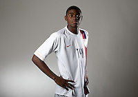 Anthony Wallace. U20 men's national team portrait photoshoot before the start of the FIFA U-20 World Cup in Canada. June 22, 2007.
