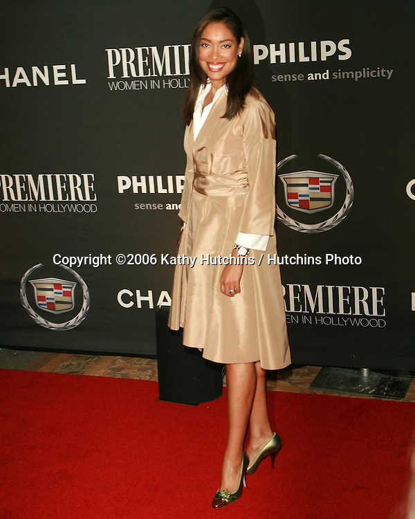 Gina Torres.Premiere Women In Hollywood Dinner.Beverly Hills Hotel.Beverly Hills, CA.September 20, 2006.©2006 Kathy Hutchins / Hutchins Photo....
