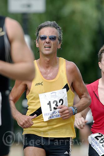 24 AUG 2003 -  BEDFORD, UK - Bill Jordan - Jordans Classic Triathlon 2003. (PHOTO (C) NIGEL FARROW)