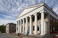 Water Street, New Bedford, Bristol County, MA (Greek revival)
