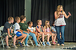 Hypnotist Kellie Karl, Friday at the 80th Amador County Fair, Plymouth, Calif.<br /> .<br /> .<br /> .<br /> .<br /> #AmadorCountyFair, #1SmallCountyFair, #PlymouthCalifornia, #TourAmador, #VisitAmador