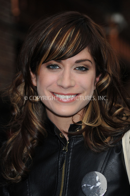 WWW.ACEPIXS.COM . . . . .  ....April 13 2009, New York City....Musician Nicole Atkins made an appearance at the 'Late Show with David Letterman' on April 13 2009 in New York City....Please byline: KRISTIN CALLAHAN - ACEPIXS.COM.... *** ***..Ace Pictures, Inc:  ..tel: (212) 243 8787..e-mail: info@acepixs.com..web: http://www.acepixs.com