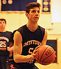 Greg Giordano #5 of Smithtown West shoots a free throw during a Suffolk County varsity boys basketball game against host Copiague High School on Thursday, Feb. 2, 2017. Smithtown West won by a score of 78-59.