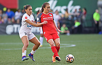 Portland, OR - Wednesday June 28, 2017: Meleana Shim during a regular season National Women's Soccer League (NWSL) match between the Portland Thorns FC and FC Kansas City at Providence Park.