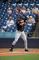 Jupiter Hammerheads JJ Bleday (21) at bat during a Florida State League game against the Tampa Tarpons on July 26, 2019 at George M. Steinbrenner Field in Tampa, Florida.  Tampa defeated Jupiter 2-0 in the first game of a doubleheader.  (Mike Janes/Four Seam Images)