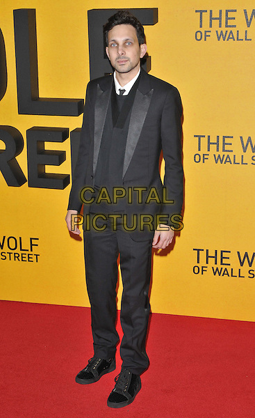 LONDON, ENGLAND - JANUARY 09: Steven Frayne aka Dyamo attends the 'The Wolf Of Wall Street' UK film premiere, Odeon Leicester Square cinema, Leicester Square, on Thursday January 09, 2014 in London, England, UK.<br /> CAP/CAN<br /> &copy;Can Nguyen/Capital Pictures