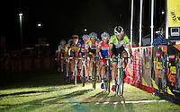 Sven Vanthourenhout (BEL/Crelan-AADrinks) leads the big front group with 2 laps remaining<br /> <br /> Cross Vegas 2014