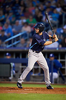 Corpus Christi Hooks center fielder Kyle Tucker (12) at bat during a game against the Tulsa Drillers on June 3, 2017 at ONEOK Field in Tulsa, Oklahoma.  Corpus Christi defeated Tulsa 5-3.  (Mike Janes/Four Seam Images)