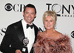 Hugh Jackman; Deborra-Lee Furness pictured at the 66th Annual Tony Awards held at The Beacon Theatre in New York City , New York on June 10, 2012. © Walter McBride