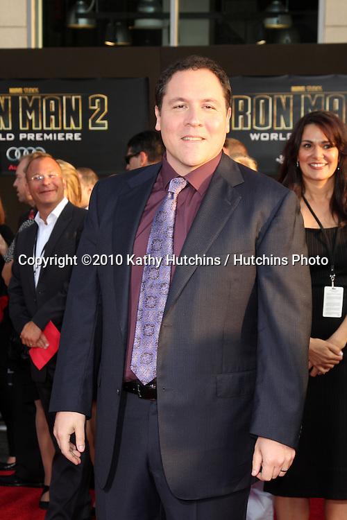 "Jon Favreau.arrives at  the ""Iron Man 2"" Premiere.El Capitan Theater.Los Angeles, CA.April 26, 2010.©2010 Kathy Hutchins / Hutchins Photo..."