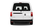 Straight rear view of 2016 Volkswagen Caddy Maxi Van - 5 Door Car Van Rear View  stock images
