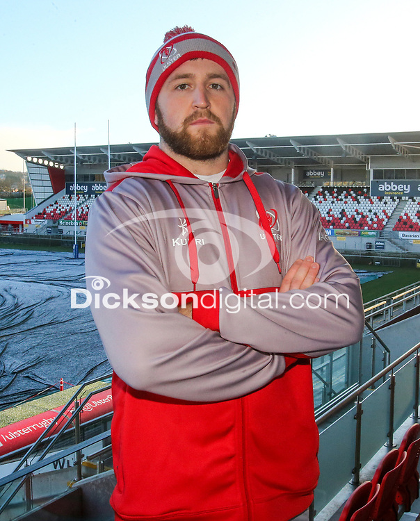 Tuesday 6th February 2018 | Ulster Rugby Media Conference<br /> <br /> Alan O'Connor during the Ulster Rugby Media Conference held at Kingspan Stadium, Ravenhill Park, Belfast, Northern Ireland. Photo by John Dickson / DICKSONDIGITAL
