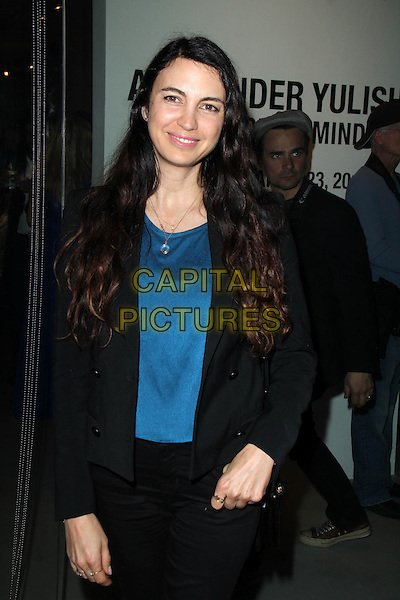 LOS ANGELES, CA - March 08: Shiva Rose at the Alexander Yulish &quot;An Unquiet Mind&quot; Reception, KM Fine Arts, Los Angeles,  March 08, 2014.  <br /> CAP/MPI/JO<br /> &copy;Janice Ogata/MediaPunch/Capital Pictures