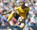 Malaga CF's Sandro Ramirez during La Liga match. February 25,2017. (ALTERPHOTOS/Acero)