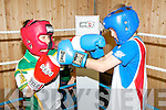 Ballyduff Boxing Club :  Brothers Gerard & Dylan Browne in training....Ref Jimmy Darcy