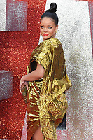 "Rihanna arriving for the ""Ocean's 8"" European premiere at the Cineworld Leicester Square, London, UK. <br /> 13 June  2018<br /> Picture: Steve Vas/Featureflash/SilverHub 0208 004 5359 sales@silverhubmedia.com"