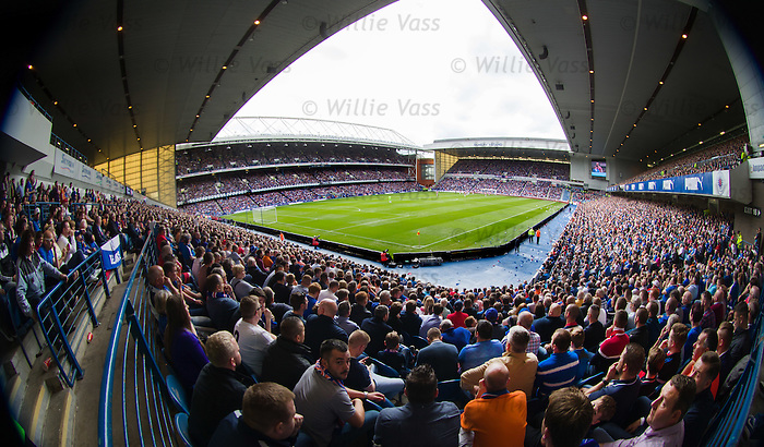 Another full house as Rangers kick off their Premiership campaign for the new season