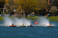 "Bobby King, S-92 ""Tenacity"", Andrew Tate, S-80 ""On The Edge"", Grant Hearn, S-14 ""Legacy 2"", John Shaw,S-33 ""Keen's Sunday Money""    (2.5 Litre Stock hydroplane(s)"