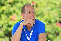 Jamie Hodges, Senior Project Manager Challenge Tour  during round 3, Ras Al Khaimah Challenge Tour Grand Final played at Al Hamra Golf Club, Ras Al Khaimah, UAE. 02/11/2018<br /> Picture: Golffile | Phil Inglis<br /> <br /> All photo usage must carry mandatory copyright credit (&copy; Golffile | Phil Inglis)