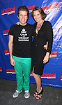 Perez Hilton & LuAnn De Lesseps attending the Opening Night Performance of Perez Hilton in 'NEWSical The Musical' at the Kirk Theatre  in New York City on September 17, 2012.
