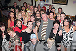 RUBY ANNIVERSARY: Mike and Helen Fitzgerald, Hawley Park, Tralee (standing 2nd & 3rd right) celebrated 40yrs of marriage last Saturday night with a massive family bash in the Slievemish bar, Boherbue, Tralee.