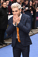 "LONDON, UK. April 24, 2019: Zac Efron arriving for the ""Extremely Wicked, Shockingly Evil And Vile"" premiere at the Curzon Mayfair, London.<br /> Picture: Steve Vas/Featureflash"