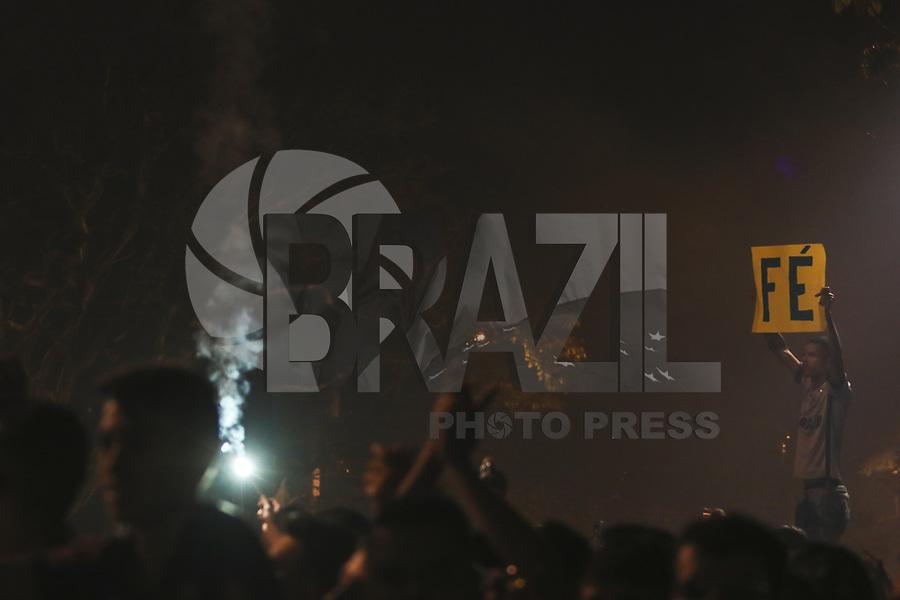BELO HORIZONTE,MG, 10.10.2018 – CRUZEIRO-CORINTHIANS– Chegada do Cruzeiro para partida contra o Corinthians em jogo válido pela final, da Copa do Brasil 2018, no Estádio Governador Magalhães Pinto, o Mineirão, em Belo Horizonte, nesta quarta-feira, 10. (Foto: Doug Patricio/Brazil Photo Press)