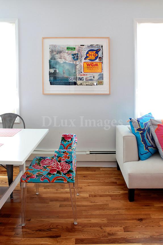 bright open plan living room