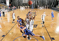 Florida International University guard Kamika Idom (14) plays against Lynn University.  FIU won the game 68-30 on November 30, 2011 at Miami, Florida. .