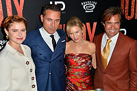 "LOS ANGELES, USA. September 20, 2019: Jessie Buckley, Rufus Sewell, Renee Zellweger & Rupert Goold at the premiere of ""Judy"" at the Samuel Goldwyn Theatre.<br /> Picture: Paul Smith/Featureflash"