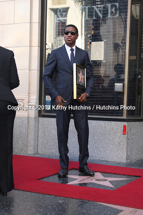 """LOS ANGELES - OCT 10:  Kenny """"Babyface"""" Edmonds at the Kenny """"Babyface"""" Edmonds Hollywood Walk of Fame Star Ceremony at Hollywood Boulevard on October 10, 2013 in Los Angeles, CA"""