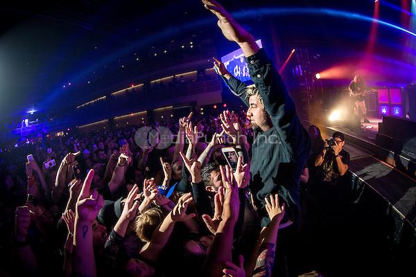 LAS VEGAS, NV - August 30, 2016: ***HOUSE COVERAGE*** DEFTONES at The Joint at Hard Rock Hotel & Casino in Las vegas, NV on August 30, 2016. Credit: Erik Kabik Photography/ MediaPunch