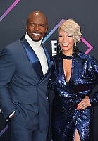 LOS ANGELES, CA. November 11, 2018: Terry Crews &amp; Rebecca King-Crews at the E! People's Choice Awards 2018 at Barker Hangar, Santa Monica Airport.<br /> Picture: Paul Smith/Featureflash