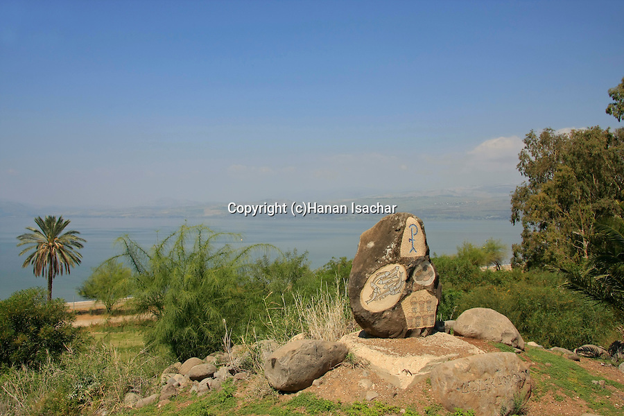 Israel, Tel Hadar at the Sea of Galilee