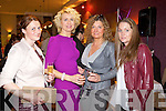 Pictured at Kerry Fashion Weekend Fashion Show on Friday night in the Carlton hotel, Tralee, were l-r: Eileen Kennedy (Inch) Janet Grunau (Tralee) Gosa Nowoak (Tralee) and Collette O'Leary (Maharees).