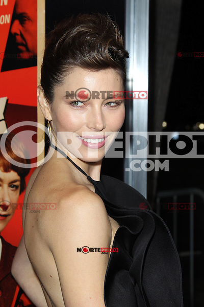 BEVERLY HILLS, CA - NOVEMBER 20: Jessica Biel at the premiere of Fox Searchlight Pictures' 'Hitchcock' at the Academy of Motion Picture Arts and Sciences Samuel Goldwyn Theater on November 20, 2012 in Beverly Hills, California. Credit: mpi27/MediaPunch Inc. /NortePhoto