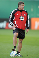 DC United Assistant Coach Chad Ashton.     DC United defeated The Seattle Sounders 2-1 at  RFK Stadium, Wednesday May 4, 2011.