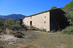 Abandoned old farmhouse near Xalo or Jalon, Marina Alta, Alicante province, Spain