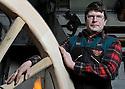 06/03/10 - SAINT OURS LES ROCHES - PUY DE DOME - FRANCE - Atelier de Alain MONTPIED, artisan charron, constructeur et reparateur de tous types de roues en bois - Photo Jerome CHABANNE