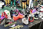 CORAL GABLES, FL - OCTOBER 05: General view of people attending Sneaker Con premier traveling event for sneaker connoisseurs to buy, sell and trade some of the most sought after footwear on the market value from hundreds to thousands of dollar at BankUnited Center on October 5, 2013 in Coral Gables, Florida. (Photo by Johnny Louis/jlnphotography.com)