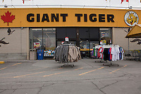 A Giant Tiger store is pictured in Ottawa Thursday April 26, 2012. Giant Tiger Stores Limited is Canadas third-largest chain of discount stores.