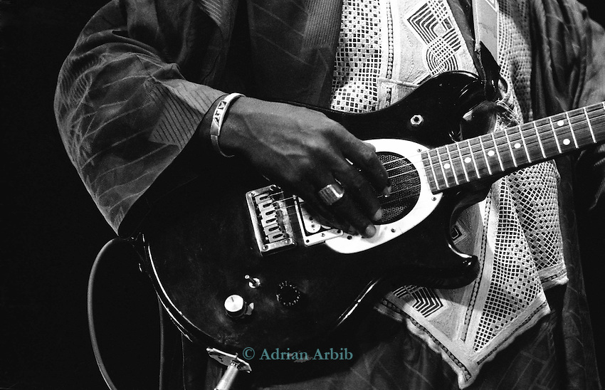 Ali Farka Toure playing the Hackney Empire, London 1991