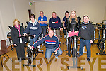 North Kerry Makeover Challenge : Pictured at the launch of the 2012 Nortk Kerry Makeover Challenge at the Listowel Sports Centre on Monday night last were some of last years contestants and organisers. Front : Aine Elbell, Anne Kennelly, .Derek Dalton, Sharon Heffernan  & Dinny Carroll. Back : Gordon Flannery, Organiser, Mark Charelton Tony Duggan, Managrer Listowel Sports Centre.