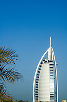 United Arab Emirates, Dubai, Burj Al Arab and palms