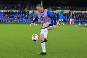 28th September 2017, Goodison Park, Liverpool, England; UEFA Europa League group stage, Everton versus Apollon Limassol; Wayne Rooney of Everton FC warming up