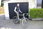 Diel Vaneenooghe with his Interceptor TS38 Jaegher Bike at the factory in Ruiselede, Flanders, Belgium. 23rd March 2017.<br /> Picture: Eoin Clarke | Cyclefile<br /> <br /> <br /> All photos usage must carry mandatory copyright credit (&copy; Cyclefile | Eoin Clarke)