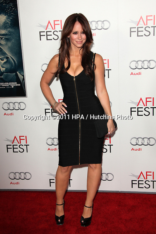 "LOS ANGELES - NOV 3:  Jennifer Love Hewitt arrives at the AFI FEST 2011 Presented By Audi - ""J. Edgar"" Opening Night Gala at Grauman's Chinese Theater on November 3, 2011 in Los Angeles, CA"
