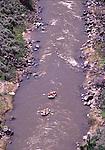 rafting on the Rio Grande River near Taos